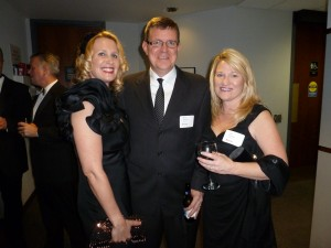 Eileen Gannon, Brad Skinner and Julie Stewart