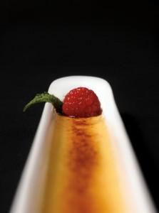 Madagascar vanilla bean crème brûlée at Baru 66.
