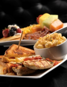 "Americana Restaurant & Lounge - The weekend ""Bombshell Brunch"" offers a build-your-own grilled cheese sandwich bar and plenty of other options, such as macaroni and cheese, chicken Parmesan and more traditional breakfast choices, including pancakes, bacon, eggs and fruit."
