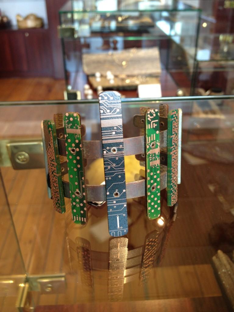 Metal by Nathan Cline  bracelet $150