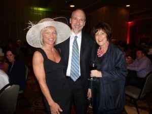 Christine and Mike  Collins and Susan Heun.