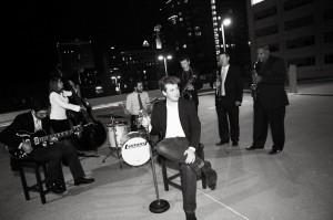 Jazz vocalist Max Wellman.