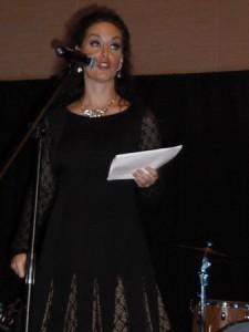 "Jackie Schmillen, ""Great Day Host "" on KCWI 23, was the emcee."