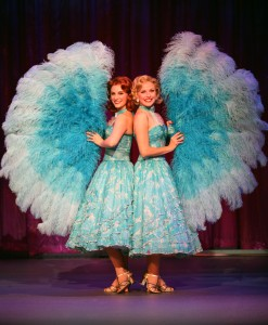 Trista Moldovan and Meredith Patterson as sisters Betty and Judy Haynes. Photo by Kevin White