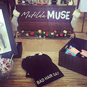 We took this Instagram photo at the new Matilda Muse in the East Village. See more of our photos @dsmmagazine.