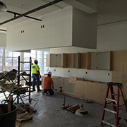 Construction on the new Culinary Loft will be completed in April.
