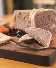 The Cheese Shop's pâté is classically seasoned, with salt, pepper, thyme, mushrooms and Calvados. Photo by Duane Tinkey.