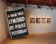 Dread Scott A Man Was Lynched by Police Yesterday