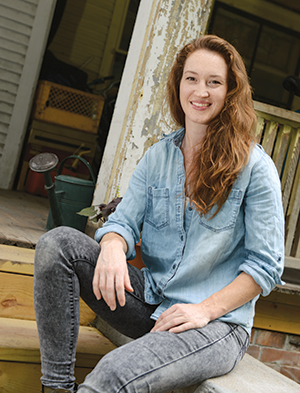 Katelyn McBurney is renovating a historic three-story house into a community living space for local artists.