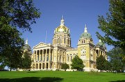 """The Iowa State Capitol is one of the sites featured on the new """"Iowa Culture"""" app."""