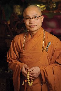 Venerable Thich Nguyen Thong, a monk with the Vietnamese Buddhist community.