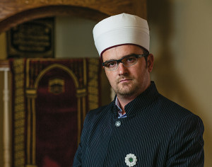 Nijaz ef. Valjevcic, imam of the Ezan Islamic and Educational Center.