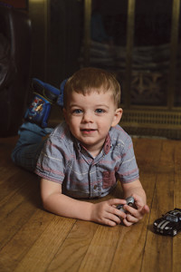 Lucas Gilbert's bright eyes sparkle with an energy he just didn't have before home improvements relieved his asthmatic symptoms.