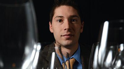 Ben Nelson, wine director at Splash Seafood Bar & Grill, hosts monthly wine tastings.