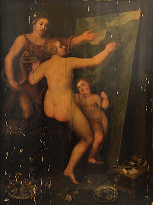 """Since arriving at Hoyt Sherman Place last October, executive director Robert Warren has been exploring every nook and cranny of the theater, historic mansion and art gallery. He's uncovered treasures along the way, including """"Apollo Teaching Venus to Paint"""", a 16-century painting by Italian Renaissance artist Federico Barocci. Under Warren's direction, Hoyt Sherman Place is experiencing a renaissance of its own, with more shows, more events and more community engagement."""