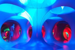 Brilliantly colorful, this interactive sculpture is coming to Cowles Commons.