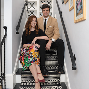 Liz Lidgett and Nick Renkoski moved back to Des Moines after spending several years in Los Angeles, where Lidgett earned a master's degree in art history from the University of Southern California.