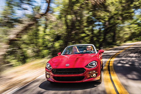 The Fiat 124 Spider comes roaring back for 2017, reviving the name, spirit and throaty snarl of another Fiat roadster that disappeared after 1985.